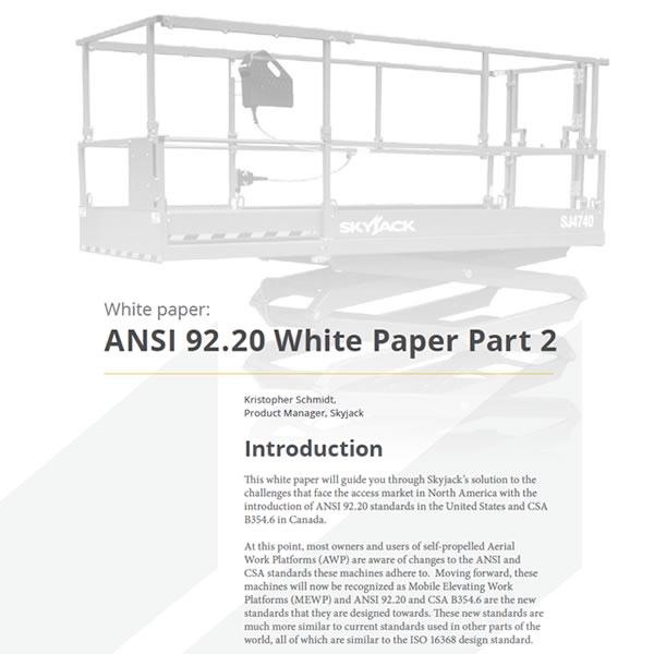 ANSI - PART 2